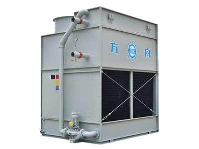 fbf係列複合流閉式冷卻塔_工作原理_技術參數 FBF閉式冷卻塔(複合流單進風)