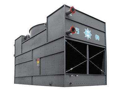 fbf係列複合流閉式冷卻塔_工作原理_技術參數 FBF閉式冷卻塔(複合流雙進風)